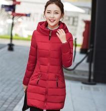 Pas cher en gros 2017 nouveau automne hiver offre spéciale femmes mode décontracté YX1141 dames vêtements de travail contre neige chaud manteau femme Parka