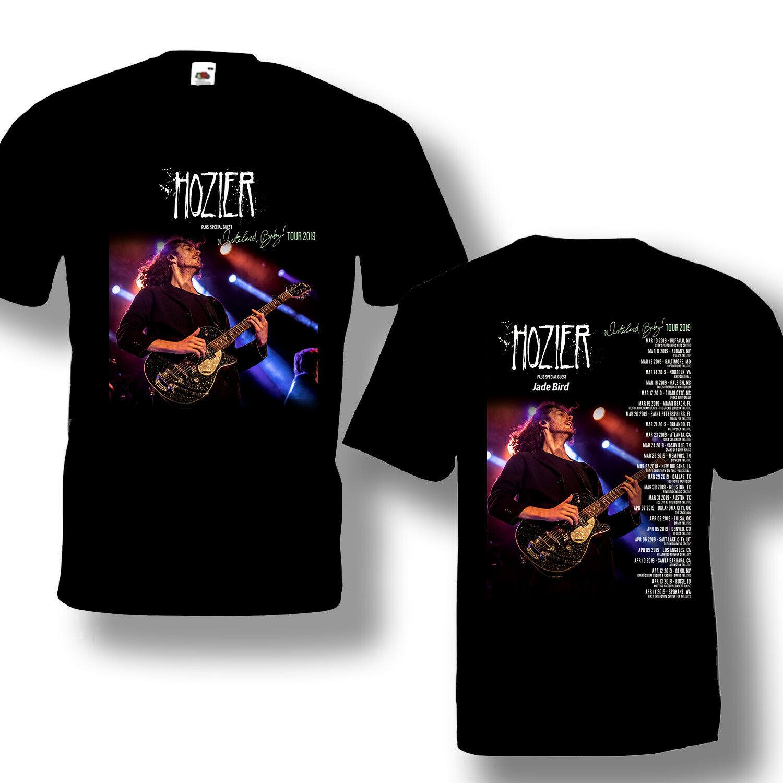 Hozier Tour 2019 Tshirt Black Short Sleeve, size Ready S-3XL New Sale
