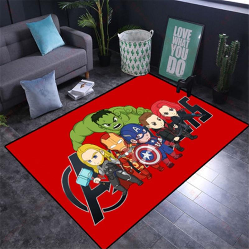 Kids Play Mat Cartoon 80x160CM   Washable Spiderman Carpet  for Living Room Washable   Floor Rug Carpet Rugs for Boys Bedroom 55x40 cm cartoon shiba inu carpet dog sleeping mat living room mat toy for bedroom