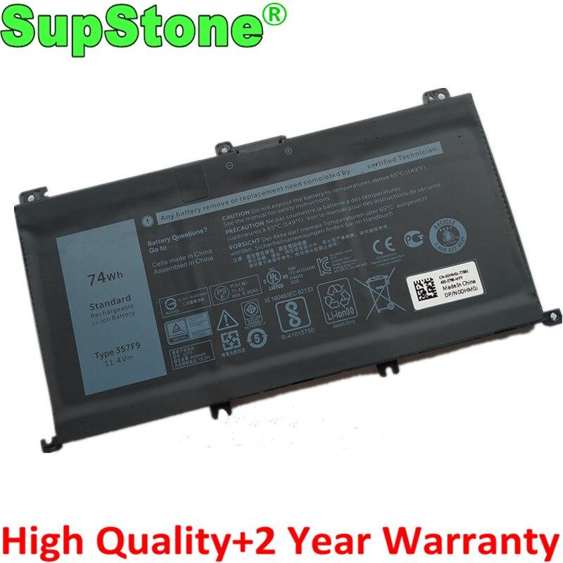 SupStone nuevo 357F9 batería del ordenador portátil para Dell Inspiron 7000 15 7559, 7557, 7567, 7566, 5576, 5577 P57F P65F INS15PD-1548B INS15PD-1748B