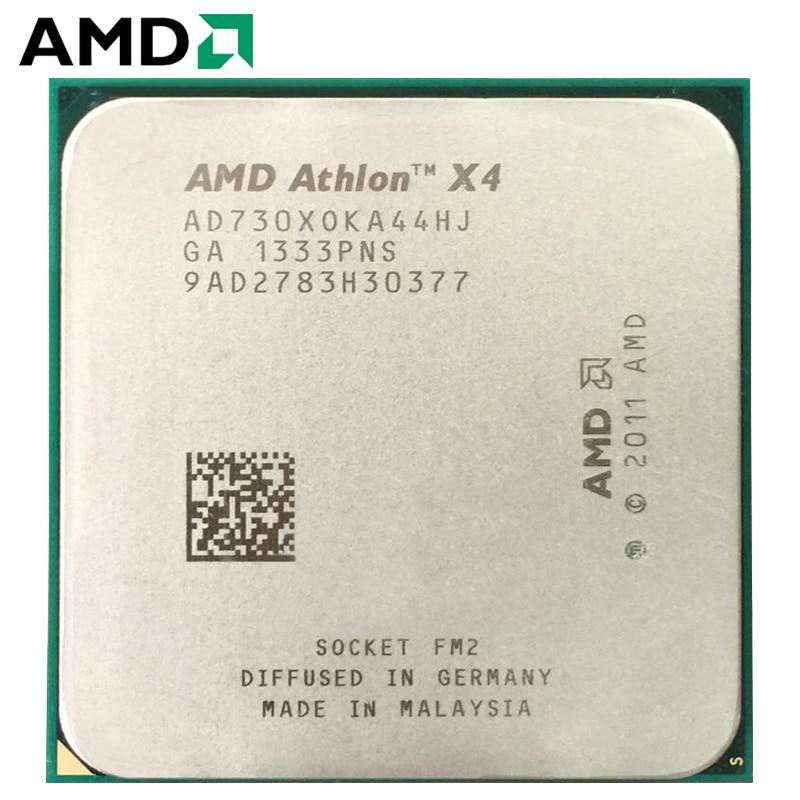 AMD Athlon II X4 730 hembra FM2 65W 2,8 GHz 904-pin CPU...