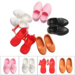 1 par moda boneca usa pouco esporte sapatos caber 2/2. 5 cm pés meninas brinquedo mini adorável roupas sapatos bonecas acessórios