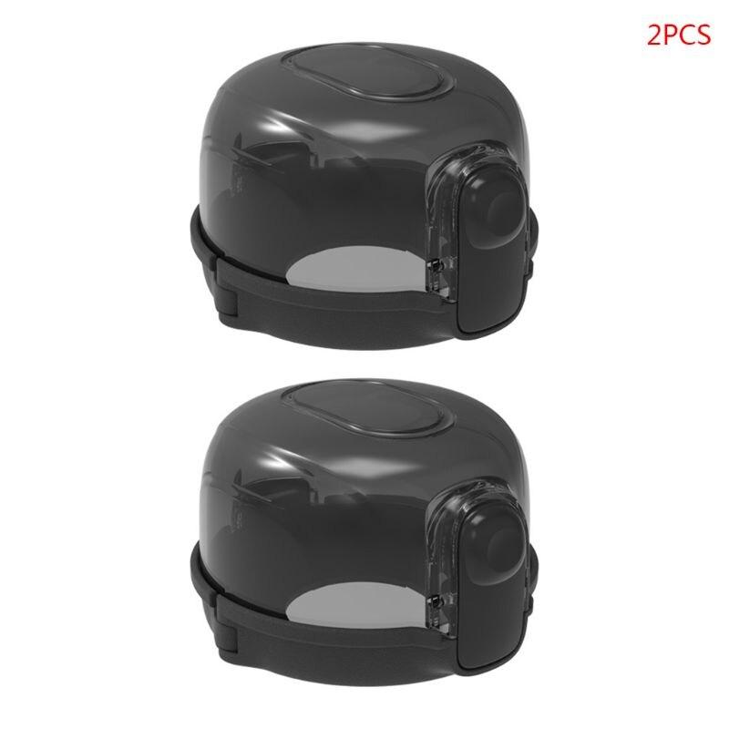 2 шт./лот Защитная крышка для выключателя газовой плиты для детей, замки для безопасности кухни, крышки для ручек плиты