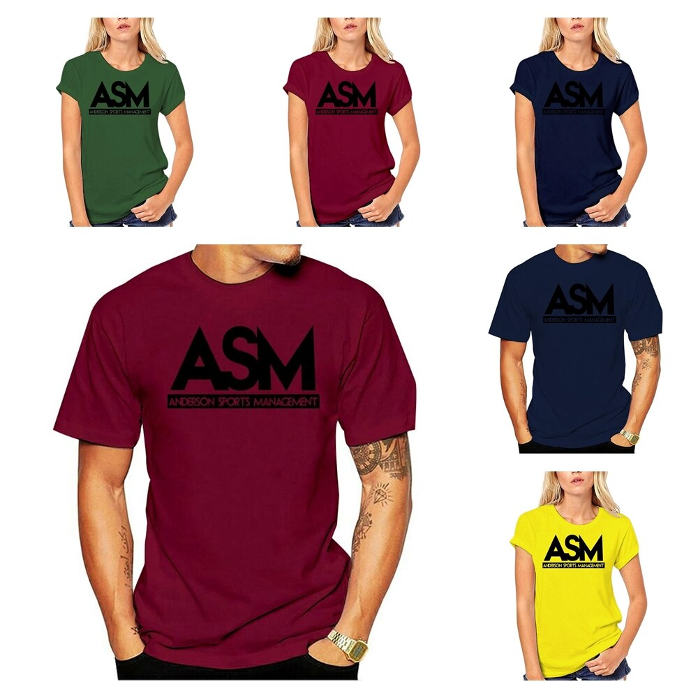 Dwayne Hot Cotton Asm Anderson Management Tee Johnson T Shirt 2020 Customized Products Cheap 100 Men 2018 Men Women Cartoon