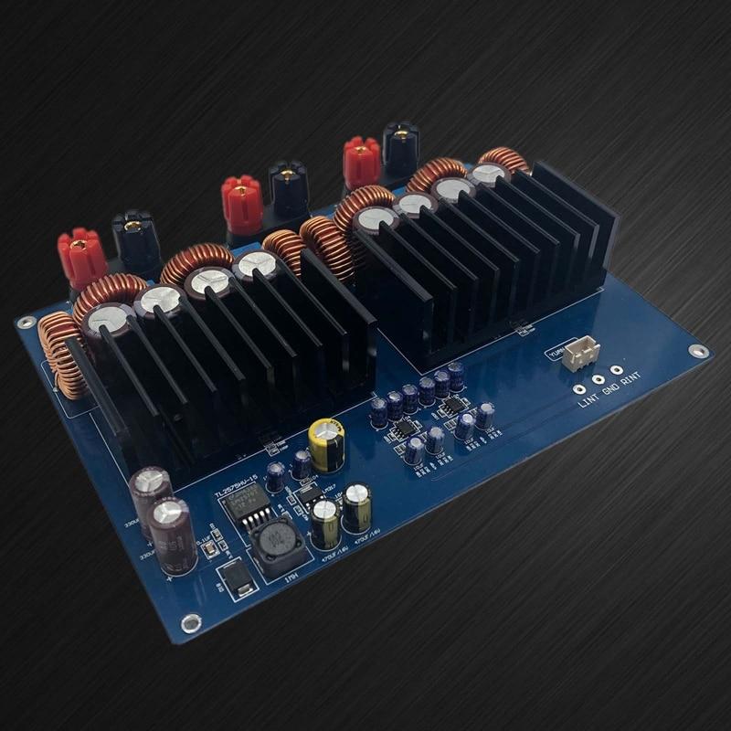 1200W TAS5630 + OPA1632DR 330UF/100Vx4 2.0 Channel Class D Digital Amplifier Board enlarge