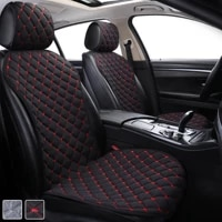 luxury car seat cushion seat protector car front seat back cushion auto seat pad mat backrest for auto automotive interior
