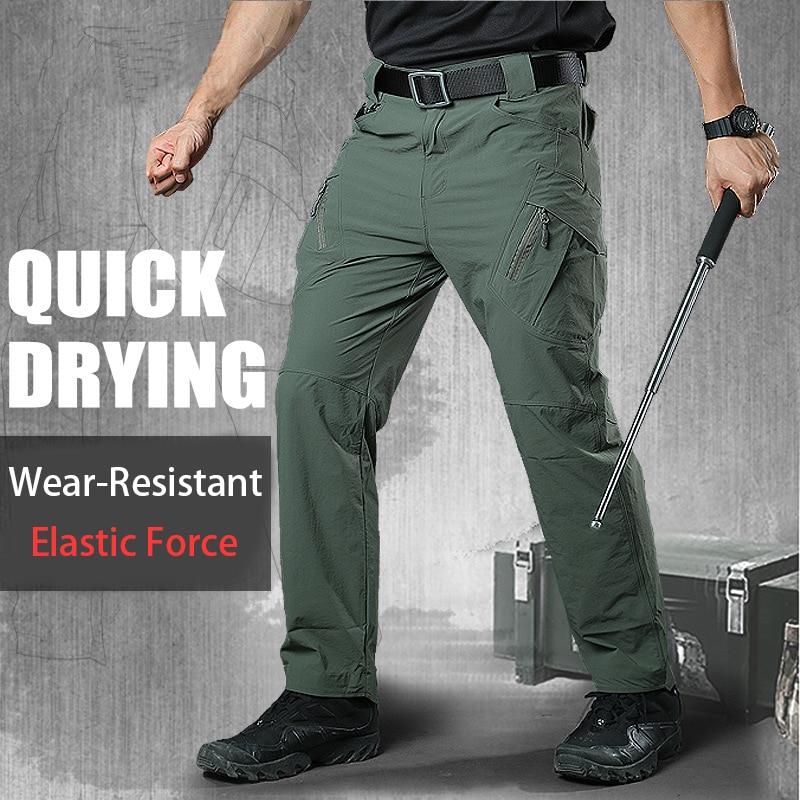 Pantalones de camuflaje tácticos Streetwear pantalones de hombre impermeable Ripstop Joggers Casual pantalones hombres ejército militar pantalones mujeres hombres ropa