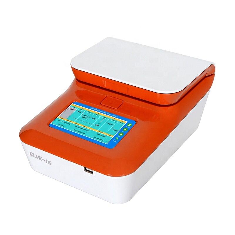Máquina térmica do teste do ciclador do gradiente do tempo real de ElVE-16 dna pcr com preço atrativo
