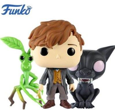 В наличии Funko pop официальный с фантастическими животными 2-PICKETT, Ньют скамандер, Matagot Виниловая фигурка Коллекционная модель игрушки