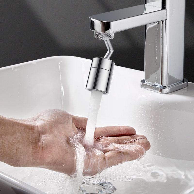 720° Degree Swivel Sink Faucet Adjustment Faucet Extender Water Tap Bathroom Faucet Extender Home Kitchen Bathroom Accessories