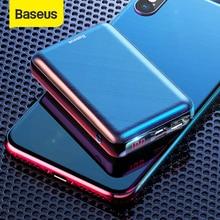 Baseus Mini batterie externe 10000mAh LCD affichage PD type-c charge rapide chargeur Portable batterie externe minuscule