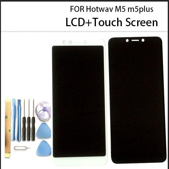 5,7 pulgadas para Hotwav M5 m5i m5plus pantalla LCD + MONTAJE DE digitalizador con pantalla táctil con cinta de herramientas