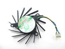 Compatible avec le ventilateur de carte pour le nouveau ventilateur de carte graphique 8800GT 9800GT 9600GT MBT7012XR-W20 MBT7012XF-W20 PLB07010S12HH 12V 0.28A