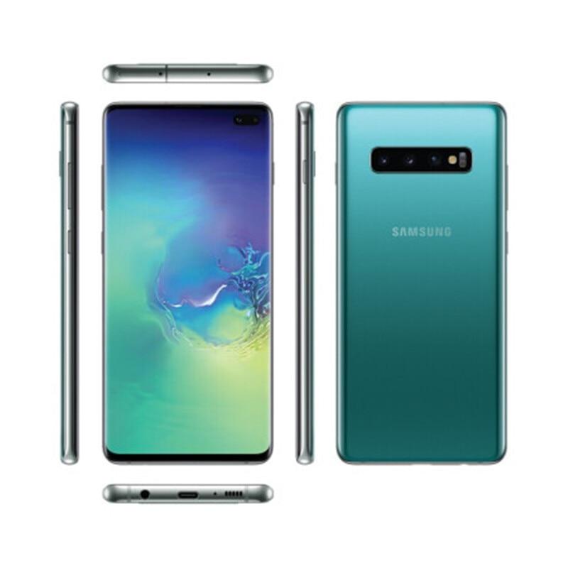 Фото4 - Samsung Galaxy S10 + g975U/U1 S10 Plus, 8 Гб ОЗУ 512 Гб ПЗУ, мобильный телефон Snapdragon 855 восемь ядер, 6,4 дюйма, 16 МП и двойная камера 12 Мп, NFC