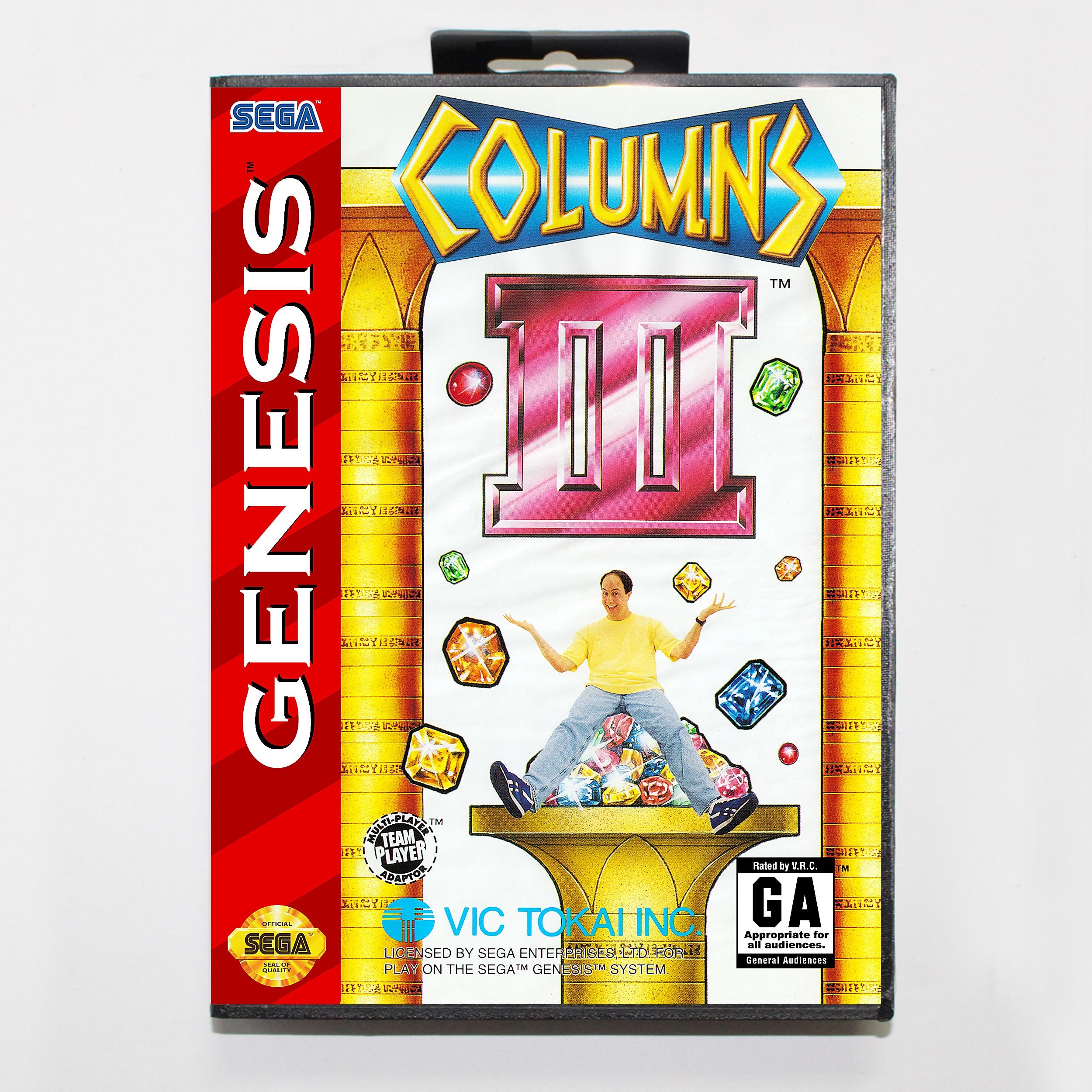 Columnas III de la venganza de columnas, versión en caja, tarjeta de...