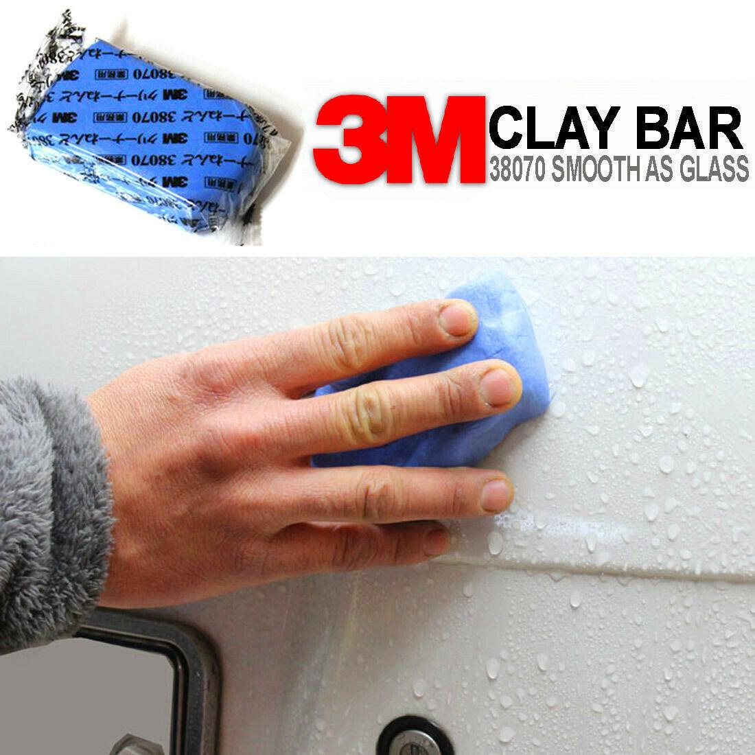 Magic Clean Clay Bar Car Truck Blue Cleaning Clay Bar Auto Detailing Clean Clay Care Tools Sludge Washing Mud Car Washer 3m 2021