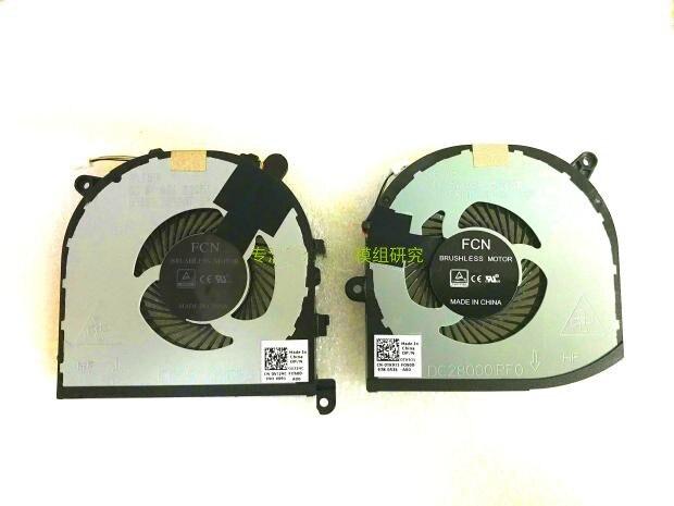 Nueva CPU GPU ventilador para DELL XPS 15 9560 precisión 5520 M5520 P54G DC28000IPF0 DC28000IQF0 radiador