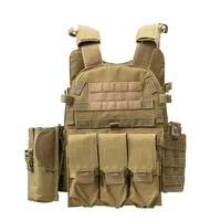 camouflage tactical combat vest military hunting cs combat shooting paintball wargame protection vest airsoft accessories
