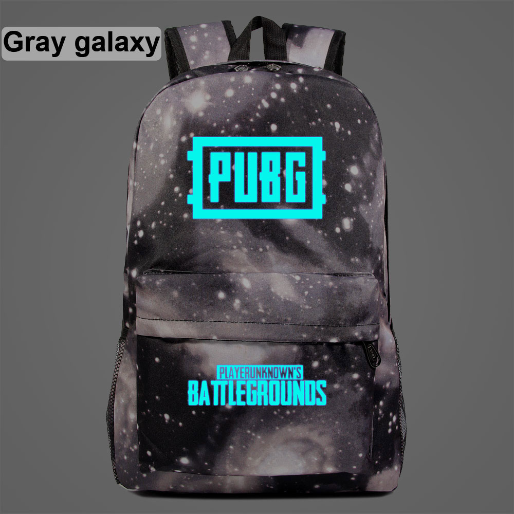 AL1406 Luminous Hot RPG Games PUBG Children Boy Girl School bag Teenagers Student Schoolbags Women Packsack Men Backpack