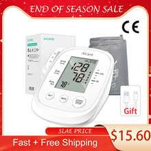 AICARE Digital Arm Blood Pressure Monitor Electronic Sphygmomanometer Medical Pressure Meter Gauge Device Cuff Pulse Health Care