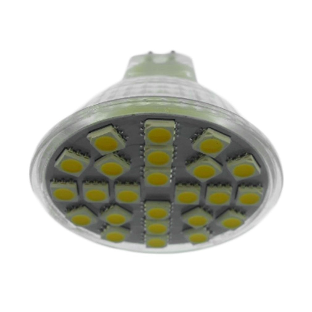 MR16 24SMD-5050 foco blanco cálido/blanco bombilla LED para lámpara enchufe de iluminación US
