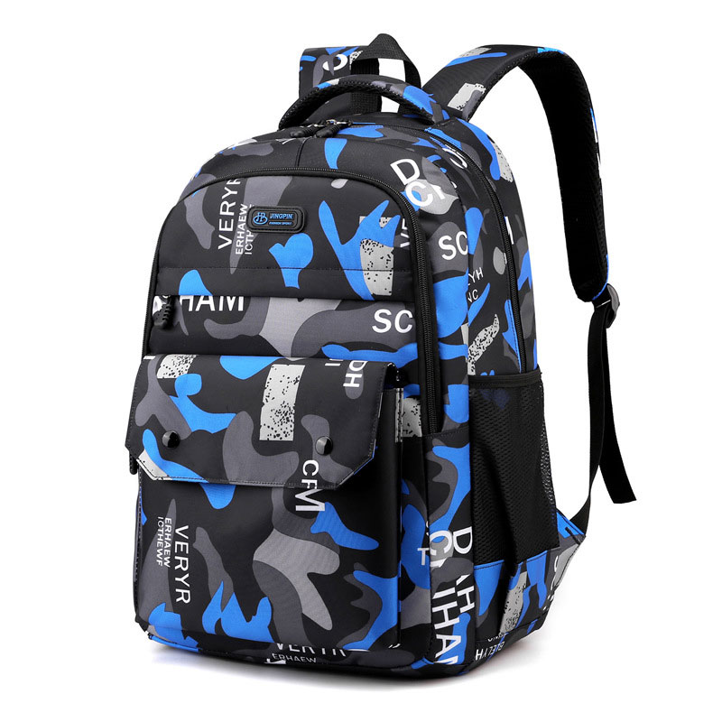 Фото - Trend Shoulder Bag Back To School Backpack 2021 New Fashion Camouflage Business Leisure Bag Junior High School Students 2021 four piece set primary school students grade 3 6 junior high school students color contrast backpack hand bag fashion