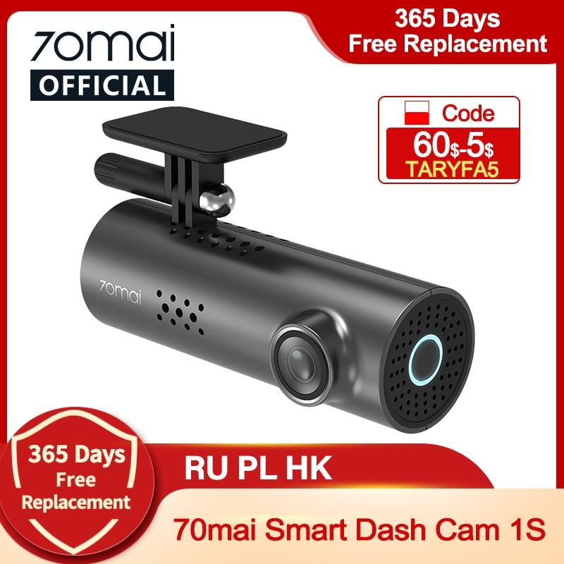 AliExpress - 70mai Car DVR 1S APP & English Voice Control 70mai 1S 1080P HD Night Vision 70mai 1S Dash Camera Recorder WiFi 70mai Dash Cam