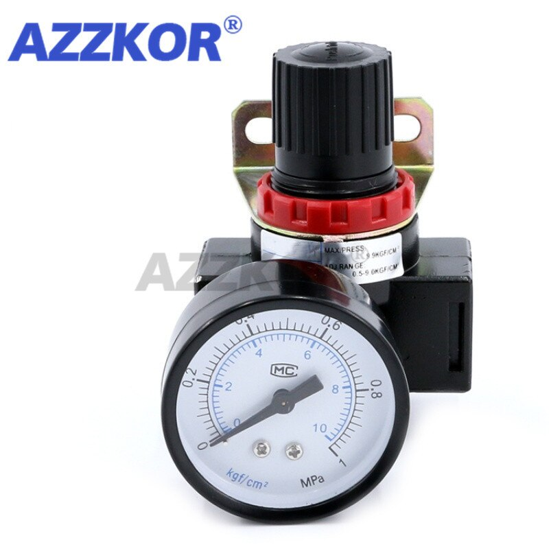 at st 065 110 s pneumatic actuator air torque ball valve butterfly valve pneumatic parts bump filter control high quality sanmin AZZKOR AR2000 G1/4 Pressure Reducing Valve with Gauge Fitting Pneumatic Mini Air Pressure Relief Control Pneumatic Parts