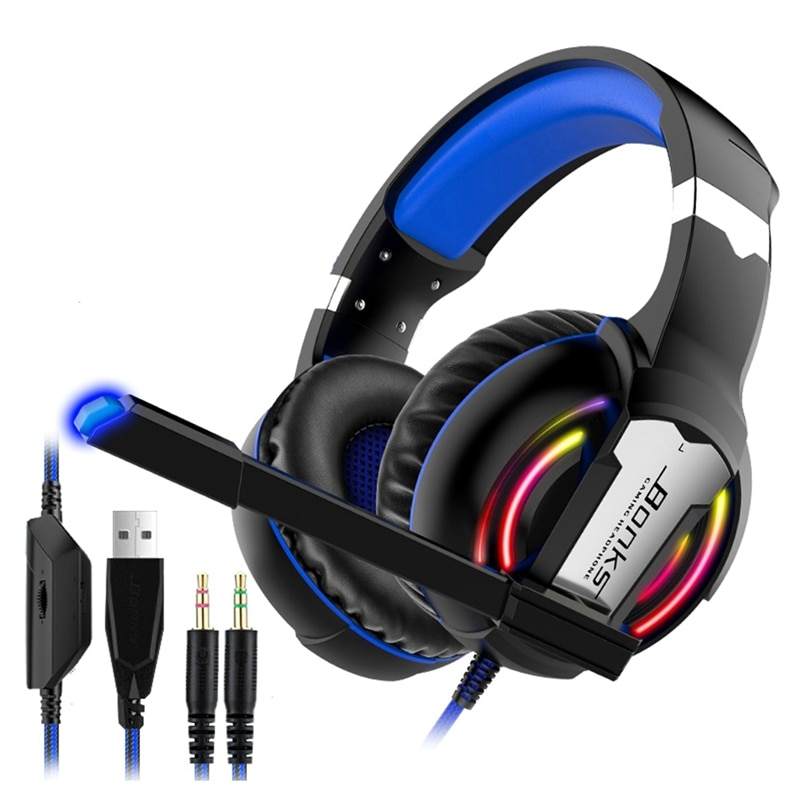 Bonks G1 Headset 7.1 Channel Computer Headset Wired Gaming Headset