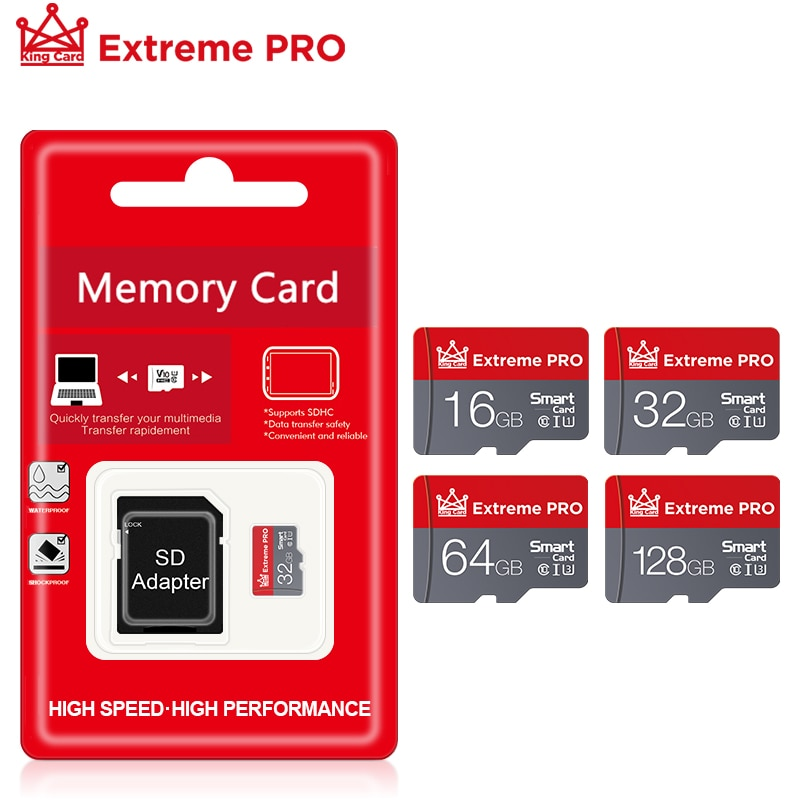 Горячая Распродажа слот для карт памяти: 8 ГБ/16 ГБ/32 ГБ, Micro SD карта, Class10 флэш-карты памяти Microsd TF/SD карты Высокое Скорость с адаптером селфи-Сти...