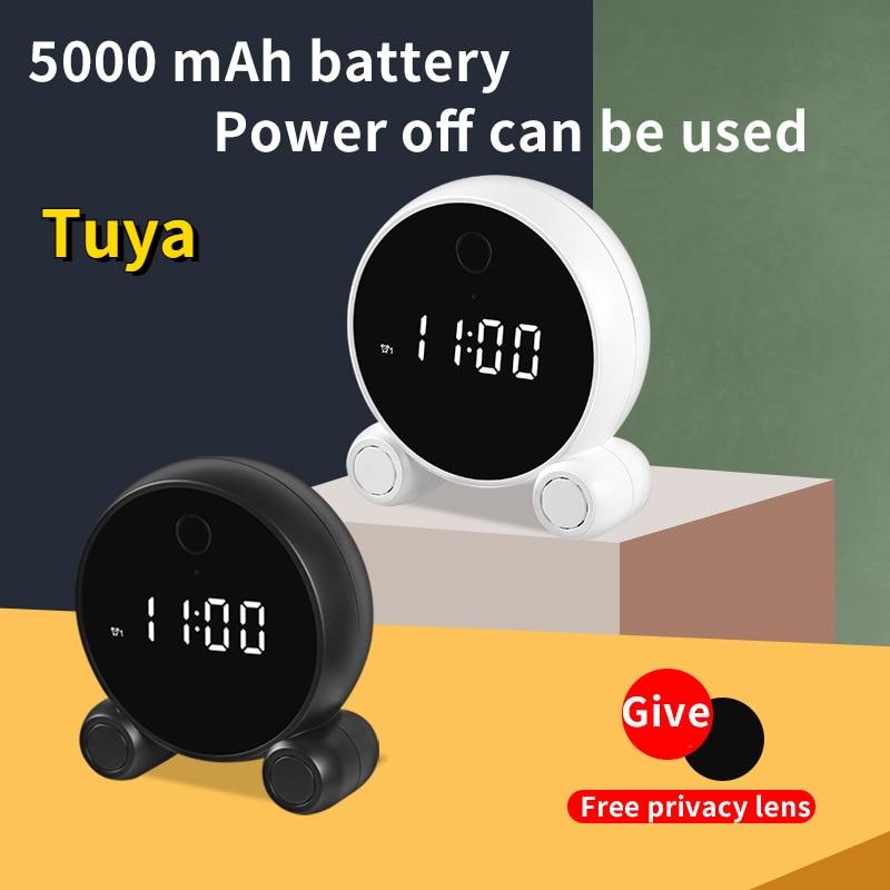 IP-камера Tuya компактная с поддержкой Wi-Fi и микрокамерой, 1080P
