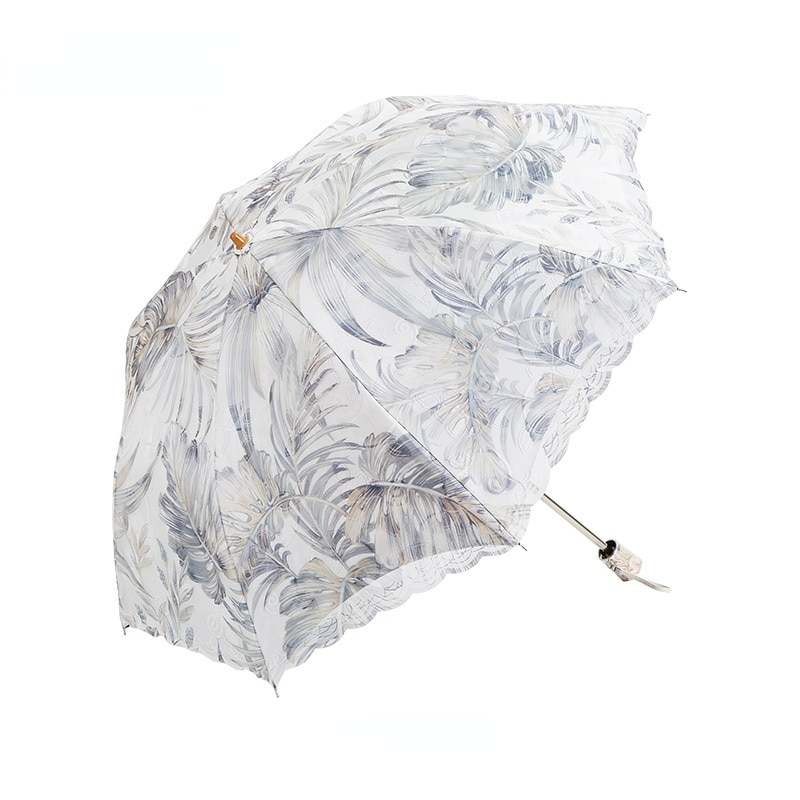 Sun Accessories Umbrella Rain Women Windproof Simplicity Lace Small Umbrella Bag Screen UV Protection Paraplu Rain Gear AG50ZS enlarge