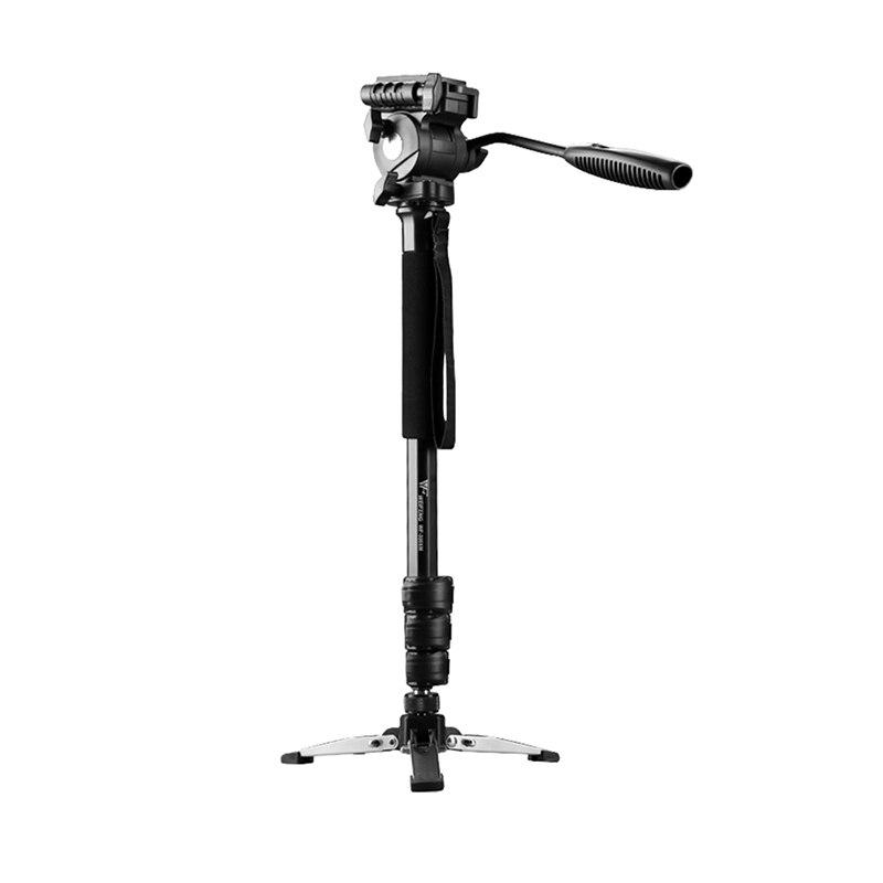 WF-3958M Professionele Draagbare Aluminium Camera Monopod Met Fluid Pan Head Unipod Houder Voor Dslr Camera