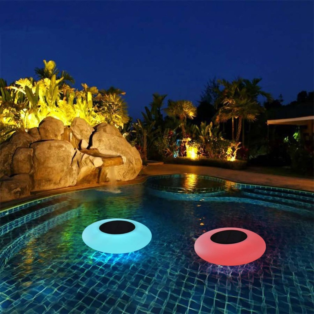 Floating Pool Lights Solar Swimming Pool Light with 16 Color Changing Outdoor Solar Light Waterproof LED Lights for Patio, Pool enlarge