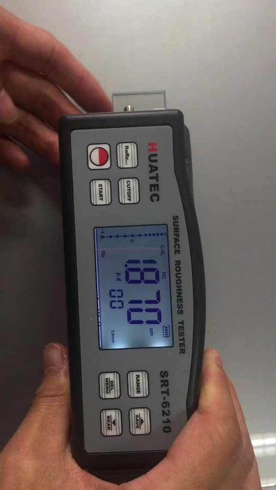 SRT-6210 Ra Rq Rz Rt 4 Parameters Digital Surface Roughness Tester with Separate Sensor