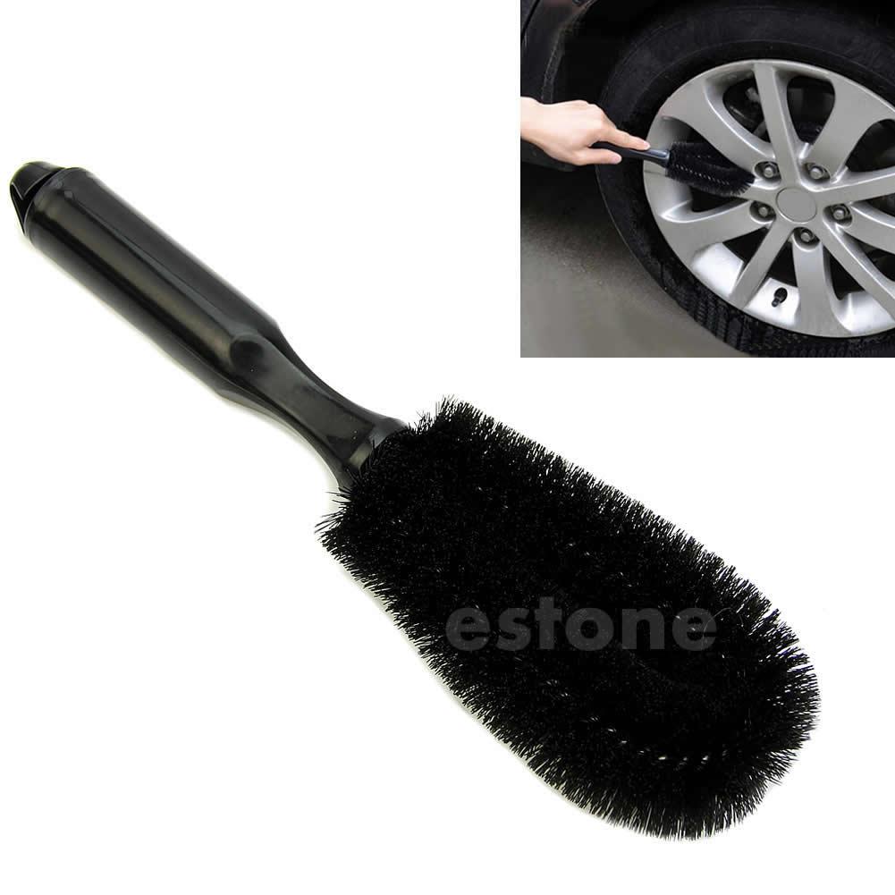 Car Vehicle Motorcycle Wheel Tire Rim Scrub Brush Washing Cleaning Tool Cleanerqiang