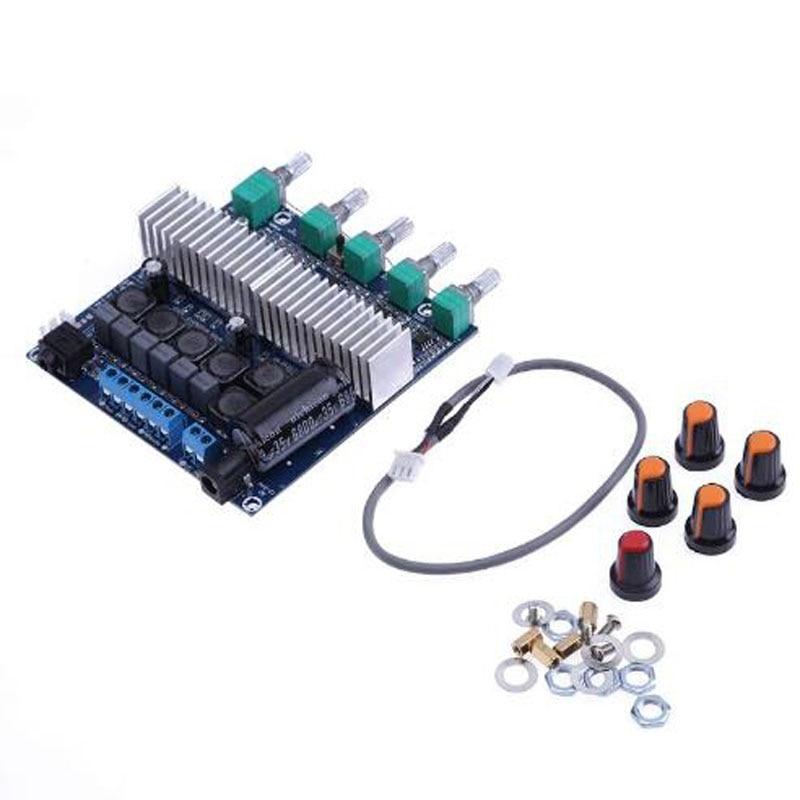 TPA3116 عالية الطاقة 2.1 مضخم الصوت HIFI مكبر كهربائي رقمي مجلس وحدة صوت مكبر كهربائي الصوت مجلس