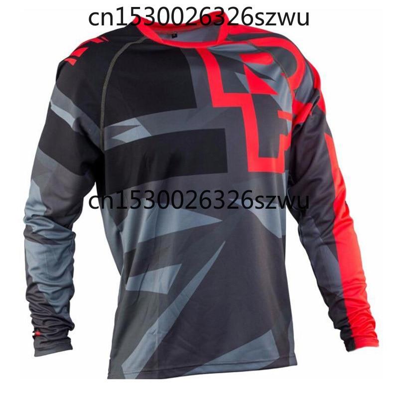 Camiseta para Moto Maillot para Hombre, Jersey Dh Abajo, camiseta De La...