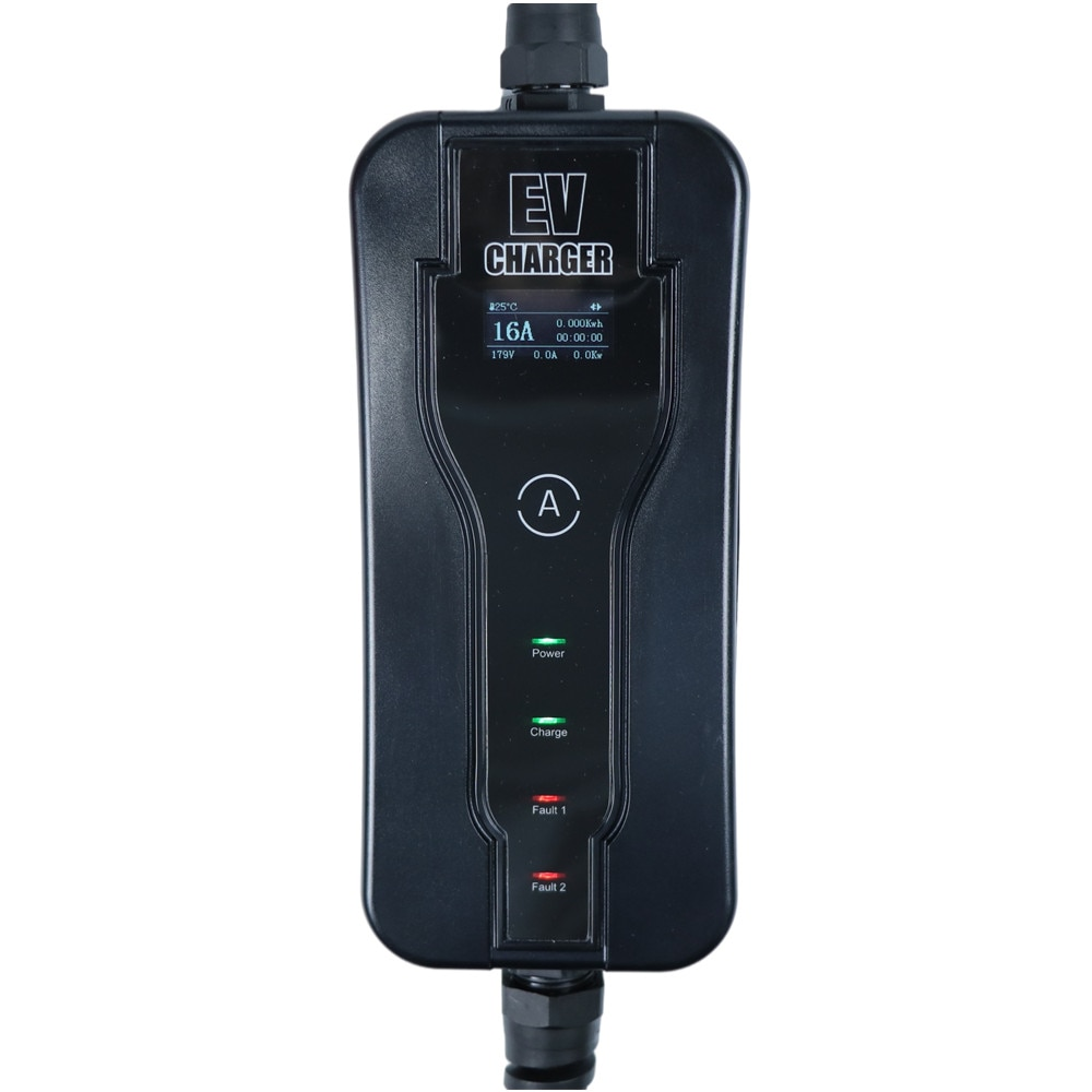 GKFLY EV Charger J1772 Type 1 EVSE Level 2 5m electric vehicle Portable Adjustable Controlle Electric Car Charging Stations enlarge