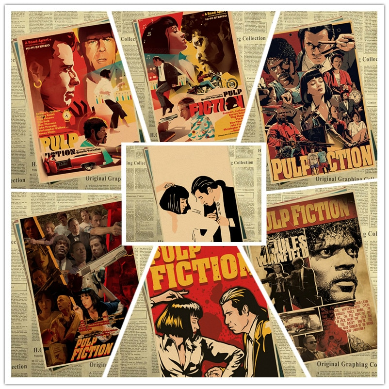 quentin-tarantino-fiction-vintage-posters-for-home-bar-living-decor-kraft-paper-high-quality-poster-wall-sticker