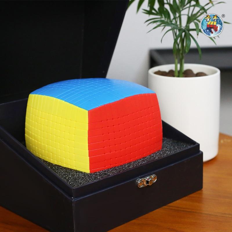 Original Shengshou 13 capas 13x13x13 Cubo sin adhesivo velocidad mágica rompecabezas profesional 13x13 educativo Cubo magico juguetes para adultos