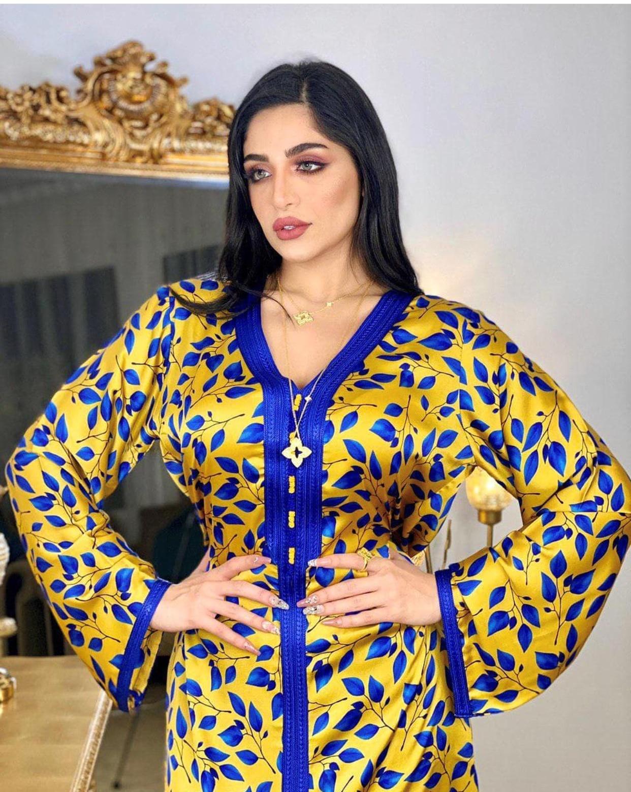 رمضان عيد مبارك الحجاب فستان للنساء متواضعة مسلم جلابية دبي عباية تركيا العربية المغربية قفطان الملابس الإسلامية 2021