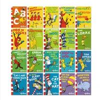 random 5 booksset dr seuss series interesting story childrens picture english reading books kids learning toys children