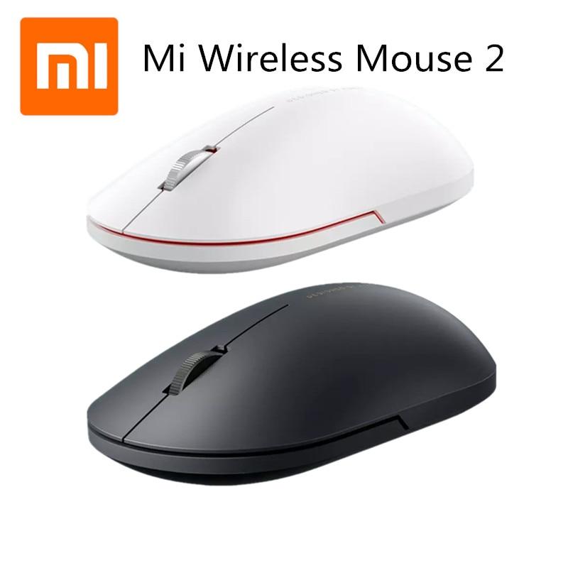 Original Xiaomi Wireless Mouse Mini Portable Mouse 2.4Ghz Optical Mouse For Macbook Mi Notebook Lapt