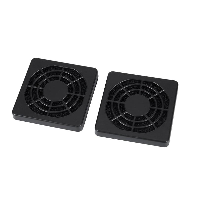 ABGN Hot-2 szt. Pyłoszczelny filtr pyłowy osłona grilla na 50mm wentylator obudowy PC