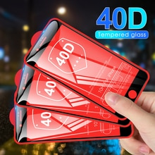 40D Full Cover Screen Protector For iPhone 7 8 6S 6 Plus SE 2 2020 XS Max X XR HD Luxury Tempered Gl