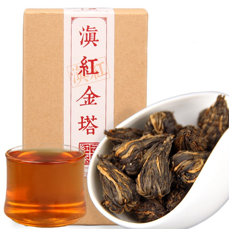 5A China Yunnan Fengqing Dian Hong Tea Premium DianHong Black Tea Beauty Slimming Food for Health Ca