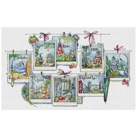 memories of world travel counted cross stitch 11ct 14ct 18ct diy chinese cross stitch kits embroidery needlework sets