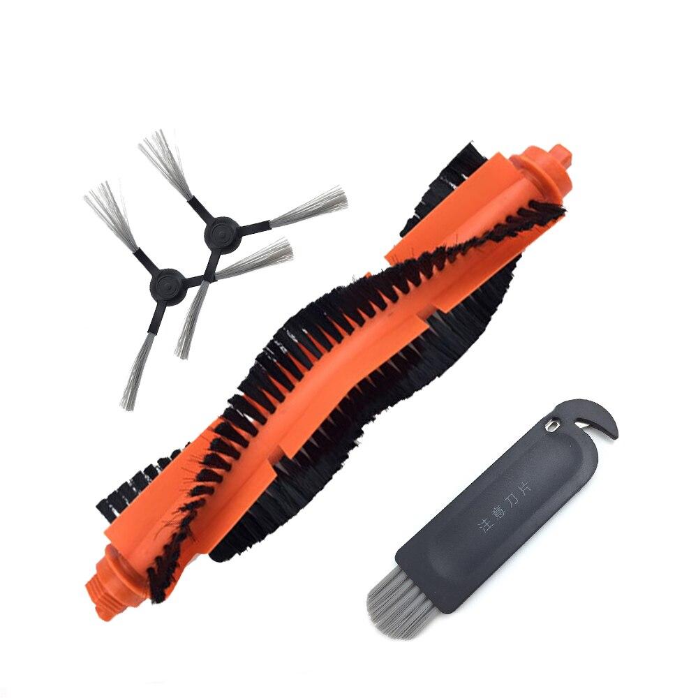 Cepillo principal lado cepillo herramienta de limpieza para mijia mojado aspiradora robot 2 vacío robots limpiadores de alfombras STYJ02YM partes