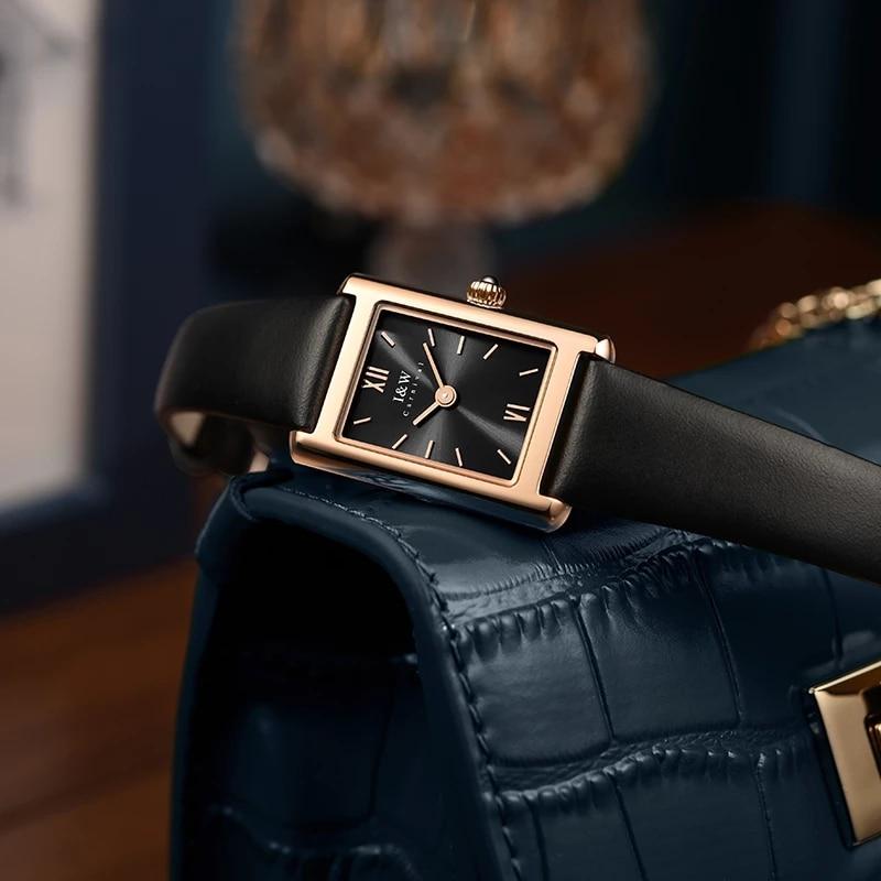 CARNIVAL Top Brand Lady Fashion Square Watch Woman Waterproof Untra Thin Sapphire Casual Girl Quartz Wristwatch Relogio Feminino enlarge